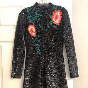 Gianni Bini sequin mini dress, size 0